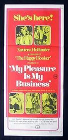 My Pleasure Is My Business - Australian Movie Poster (xs thumbnail)