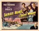 Sherlock Holmes and the Secret Weapon - Movie Poster (xs thumbnail)