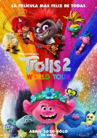 Trolls World Tour - Argentinian Movie Poster (xs thumbnail)
