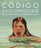 Code inconnu: Récit incomplet de divers voyages - Spanish Movie Poster (xs thumbnail)
