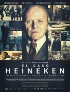 Kidnapping Mr. Heineken - Spanish Movie Poster (xs thumbnail)