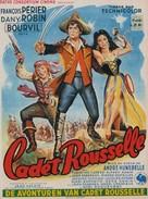 Cadet Rousselle - Belgian Movie Poster (xs thumbnail)