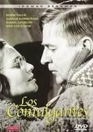 Nattvardsgästerna - Spanish DVD cover (xs thumbnail)