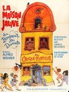 Das gelbe Haus am Pinnasberg - French Movie Poster (xs thumbnail)