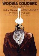 Veuve Couderc, La - Polish Movie Poster (xs thumbnail)