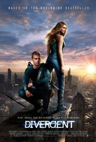 Divergent - Danish Movie Poster (xs thumbnail)