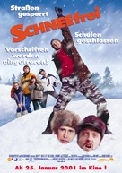 Snow Day - German Movie Poster (xs thumbnail)