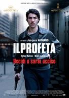 Un prophète - Italian Movie Poster (xs thumbnail)