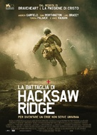 Hacksaw Ridge - Italian Movie Poster (xs thumbnail)