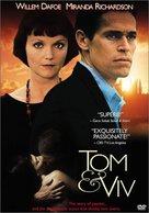 Tom & Viv - Movie Poster (xs thumbnail)