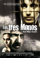 Uc maymun - Colombian Movie Poster (xs thumbnail)