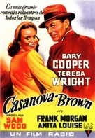 Casanova Brown - Spanish Movie Poster (xs thumbnail)