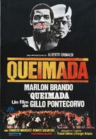 Queimada - Spanish Movie Poster (xs thumbnail)