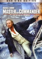 Master and Commander: The Far Side of the World - Australian DVD cover (xs thumbnail)
