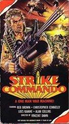 Strike Commando - VHS cover (xs thumbnail)