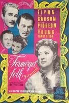 That Forsyte Woman - Swedish Movie Poster (xs thumbnail)
