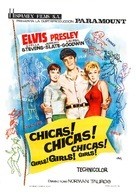Girls! Girls! Girls! - Spanish Movie Poster (xs thumbnail)