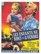I figli di nessuno - Belgian Movie Poster (xs thumbnail)