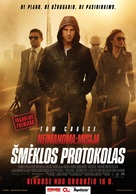 Mission: Impossible - Ghost Protocol - Lithuanian Movie Poster (xs thumbnail)