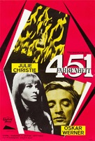 Fahrenheit 451 - Finnish Movie Poster (xs thumbnail)