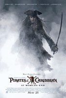 Pirates of the Caribbean: At World's End - Movie Poster (xs thumbnail)