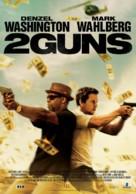 2 Guns - Lebanese Movie Poster (xs thumbnail)
