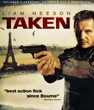 Taken - Blu-Ray cover (xs thumbnail)