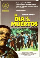 Day of the Dead - Spanish Movie Poster (xs thumbnail)