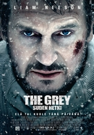 The Grey - Finnish Movie Poster (xs thumbnail)