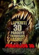 Piranha - Lithuanian Movie Poster (xs thumbnail)