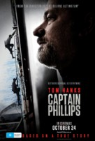Captain Phillips - Australian Movie Poster (xs thumbnail)