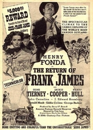 The Return of Frank James - poster (xs thumbnail)