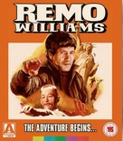 Remo Williams: The Adventure Begins - British Blu-Ray cover (xs thumbnail)
