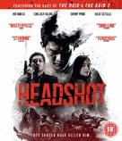 Headshot - British Blu-Ray movie cover (xs thumbnail)
