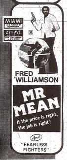 Mr. Mean - poster (xs thumbnail)