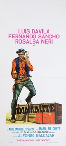 Dinamite Jim - Italian Movie Poster (xs thumbnail)
