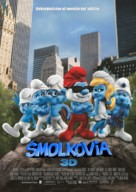 The Smurfs - Slovak Movie Poster (xs thumbnail)