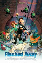 Flushed Away - Dutch Movie Poster (xs thumbnail)