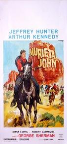 Joaquín Murrieta - Italian Movie Poster (xs thumbnail)