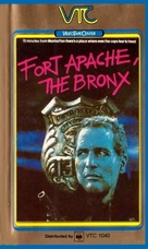 Fort Apache the Bronx - British VHS cover (xs thumbnail)