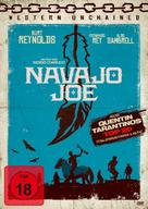 Navajo Joe - German DVD cover (xs thumbnail)