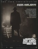 The Assassination of Jesse James by the Coward Robert Ford - For your consideration movie poster (xs thumbnail)
