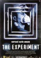 Das Experiment - Italian Movie Poster (xs thumbnail)