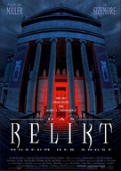 The Relic - German Movie Poster (xs thumbnail)