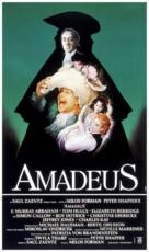 Amadeus - Italian Movie Poster (xs thumbnail)