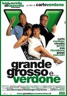 Grande, grosso e Verdone - Italian Movie Poster (xs thumbnail)
