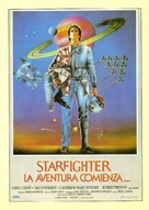 The Last Starfighter - Spanish Movie Poster (xs thumbnail)