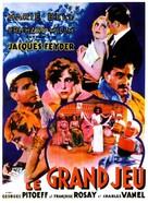 Le grand jeu - French Movie Poster (xs thumbnail)