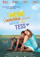 My Extraordinary Summer with Tess - German Movie Poster (xs thumbnail)