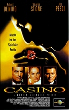 Casino - German VHS cover (xs thumbnail)